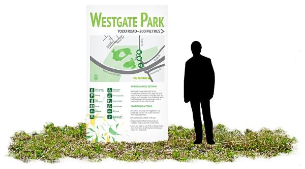 Westgate Park Concept-Wayfinding 1