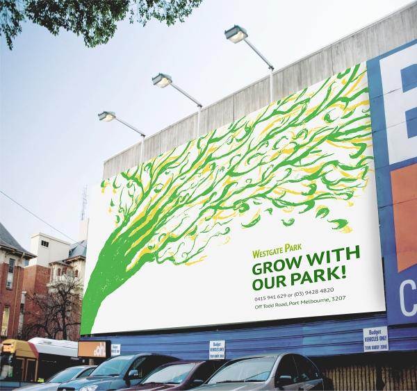 Westgate Park Concept-Billboard Signage