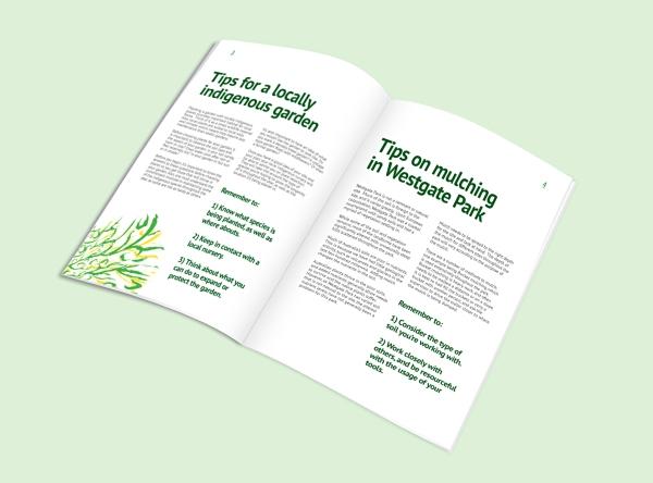 Westgate Park Concept-Student Book Spread