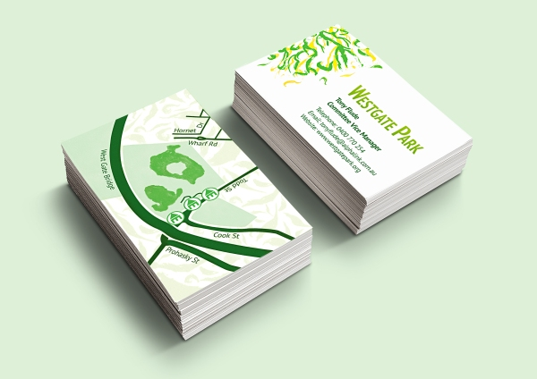 Westgate Park Concept-Business Card