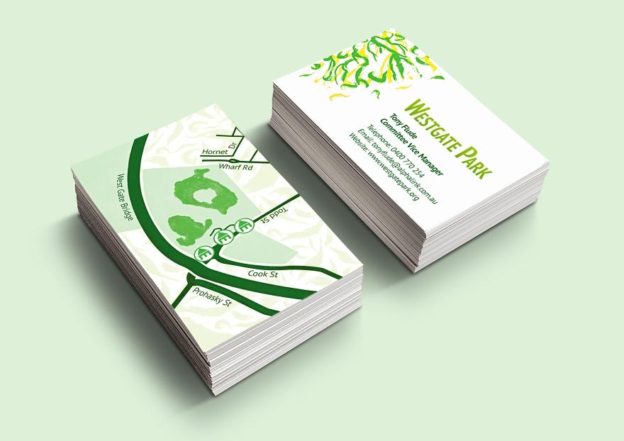 Westgate Park Concept-Business Card