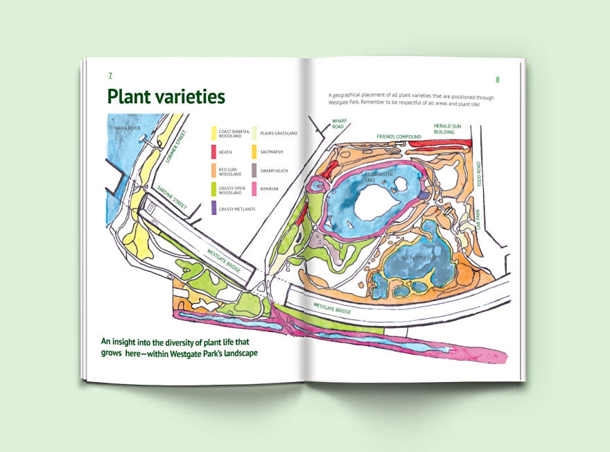 Westgate Park Concept-Student guide spread 3